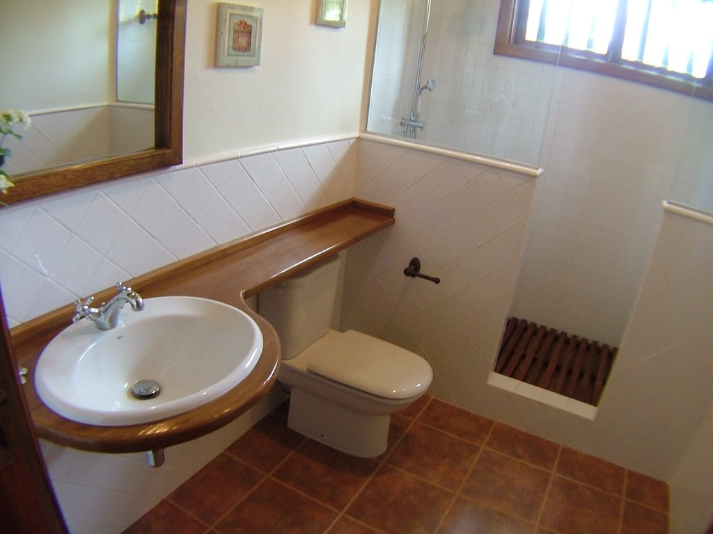 reforma de baño a medida con diseño unico al gusto del cliente